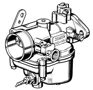 Zenith Model 87 Carburetor on