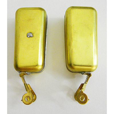 Carburetor float pair