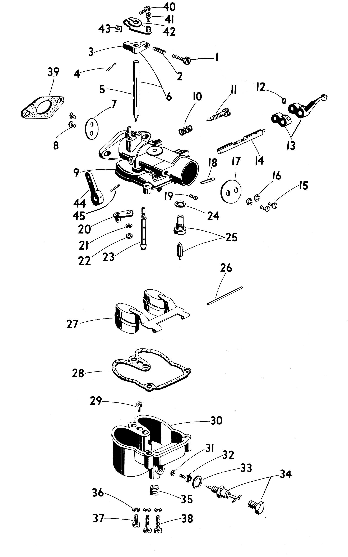 Zenith 13017 Carburetor Kit  FLoat and Manual