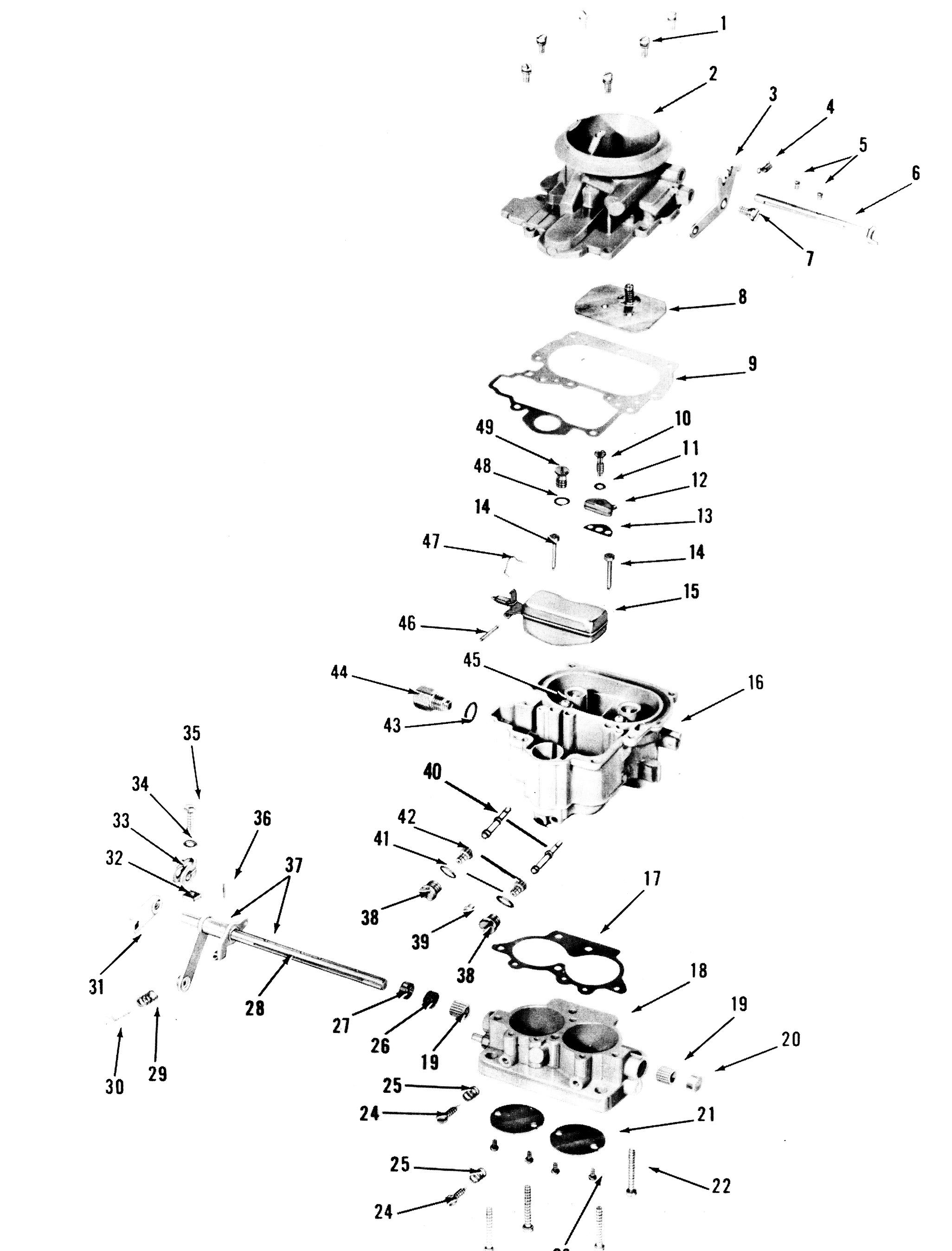 zenith 13403 carburetor kit  float and manual