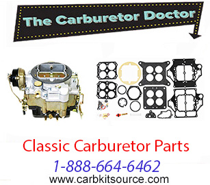 Carburetor kits and parts for classics by The Carburetor Doctor