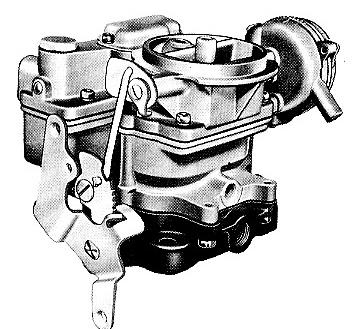 Motorcraft 2 Barrel Carburetor Diagram