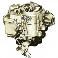 CK42 carburetor kit for Rochester 2-Jet (2GC, 2GV)