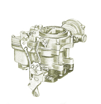 CK807 carburetor kit for 2-Jet marine carburetor