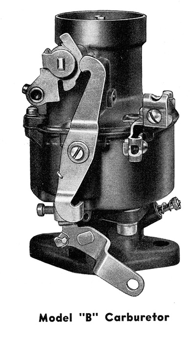 Early Rochester Model B carburetor