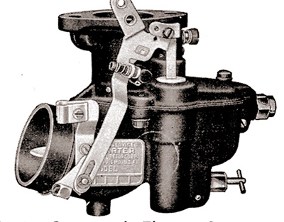 CK476 carburetor kit for Carter BB Updraft