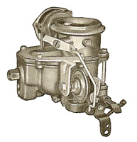 CK561 carburetor kit for Carter BBD