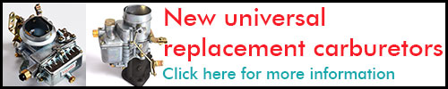 New universal replacement carburetors
