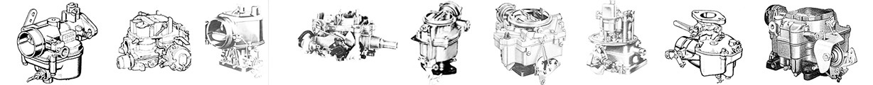 carburetor kits and parts - index