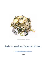 CM140 Carburetor Manual Thumbnail