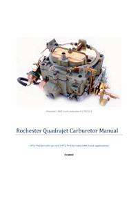 CM350 Carburetor Manual Thumbnail