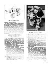 carburetor kits parts  manuals
